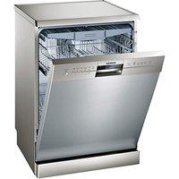 Siemens SN26M880GB Freestanding Dishwasher, Stainless Steel