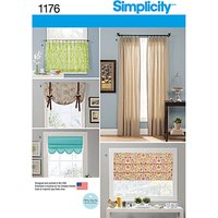 Simplicity Home Accessories Sewing Pattern, 1176, One Size