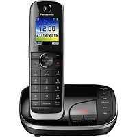 Panasonic KX-TGJ320EB Digital Cordless Phone with Nuisance Call Control and Answering Machine, Single DECT