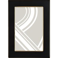 John Lewis Boutique Photo Frame, 4 x 6, Black & Gold
