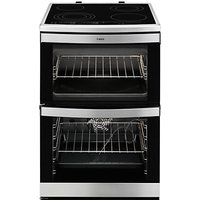 AEG 49176V-MN Electric Cooker, Stainless Steel