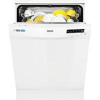 Zanussi ZDF26011WA Freestanding Dishwasher, White