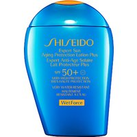 Shiseido Wetforce Expert Sun Aging Protection Lotion SPF 50+, 100ml
