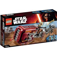 LEGO Star Wars Reys Speeder