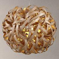 Tom Raffield Giant No. 1 Pendant Light, Oak