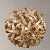 Tom Raffield No. 1 Pendant Light, Oak