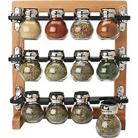 Olde Thompson 12-Jar Spice Rack