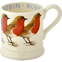 Emma Bridgewater Robin Half Pint Mug, 310ml