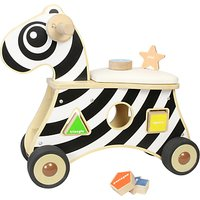 Baby Ride-On Zebra Shape Sorter
