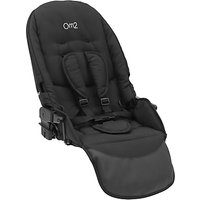 BabyStyle Oyster Max Lie-Flat Tandem Seat, Black
