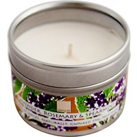 Cole & Co Lavender, Spearmint and Rosemary Scented Candle Tin