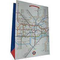 London Tube Gift Bag, Large