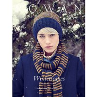 Rowan Winterscapes by Sarah Hatton Knitting Pattern Book ZB179