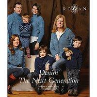 Rowan Denim The Next Generation by Martin Storey Knitting Pattern Book