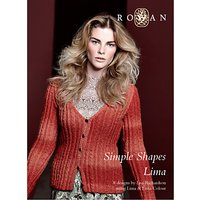 Rowan Simple Shapes Lima by Lisa Richardson Knitting Pattern Book