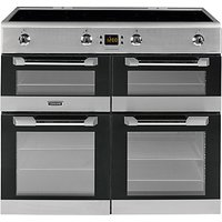 Leisure CS100D510X Induction Range Cooker, Stainless Steel