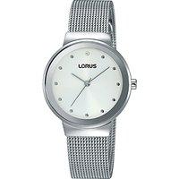 Lorus Womens Mesh Bracelet Strap Watch