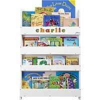 Tidy Books Personalised ABC Bookcase, White