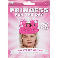Princess For The Day Inflatable Crown