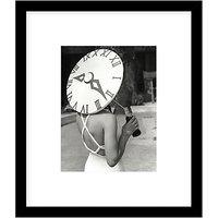 Getty Images Sundial Hat 1939 Photograph, Black Frame, 57 x 49cm