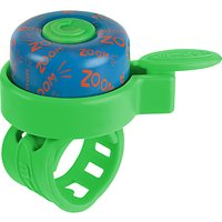 Micro Zoom Bell Scooter Accessory, Green/Blue