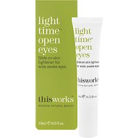 This Works Light Time Open Eyes, 15ml