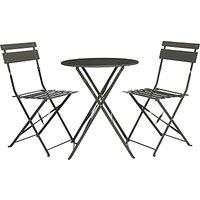 John Lewis Brighton Bistro Outdoor Table & Chair Set