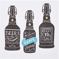 Hotchpotch Beers Birthday Card