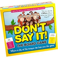 Dont Say It! The Board Game
