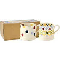 Emma Bridgewater Polka Dot Baby Mugs, Set Of 2, Multi, 190ml