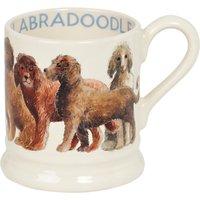 Emma Bridgewater Labradoodle Half Pint Mug, Multi, 284ml