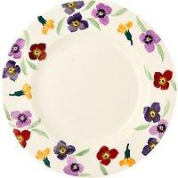 Emma Bridgewater Wallflower Dinner Plate, Multi, Dia.28cm