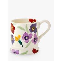 Emma Bridgewater Wallflower Half Pint Mug, Multi, 310ml