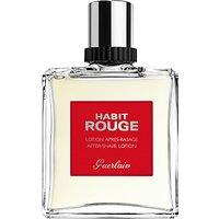 Guerlain Habit Rouge Aftershave Lotion, 100ml