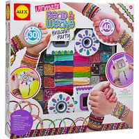 ALEX Ultimate Bead & Weave Bracelet Party