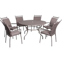 LG Outdoor Richmond 6-Seater Highback Dining Set