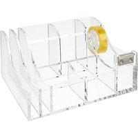 Osco Acrylic Desk Organiser, Small
