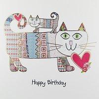Portfolio Birthday Cats Birthday Card