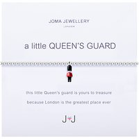 Joma A Little Queens Guard Enamel Charm Bracelet, Silver/Multi