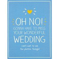 Pigment Wedding Regret Card