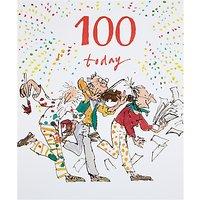 Woodmansterne 100 Today Birthday Card
