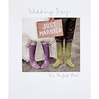 Woodmansterne The Perfect Pair Wedding Card