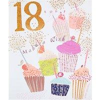 Woodmansterne Cupcakes 18th Birthday Card