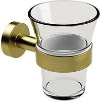 Miller Bond Brass Bathroom Tumbler