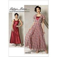 Vogue Womens Dresses Sewing Pattern, 9168