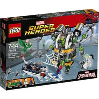 Lego Marvel Super Heroes 76059 Spider-man Doc Ock's Tentacle Trap