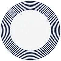 Kate Spade New York Charlotte Street East Dinner Plate, White/blue, Dia.29cm