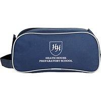 Heath House Preparatory School Boot Bag, Navy
