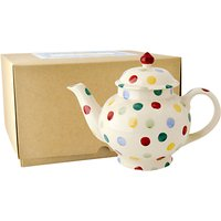 Emma Bridgewater Polka Dot 4 Mug Teapot With Box, Multi
