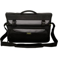 Targus City Gear Messenger Bag for Laptops between 15-17.3, Black